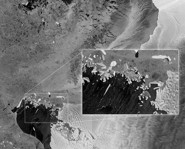Glaciar de la Isla de Pinos