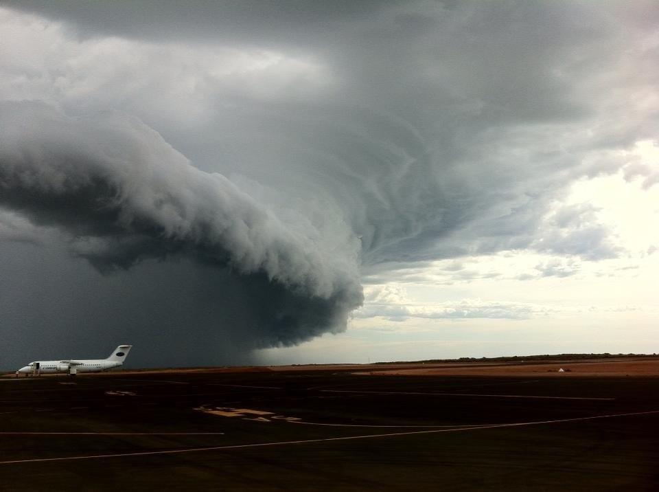 Barrow Island Weather Cyclone