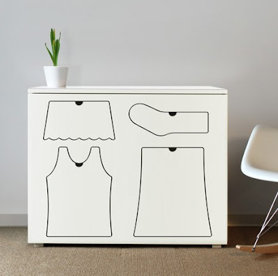 training dresser by Peter Bristol