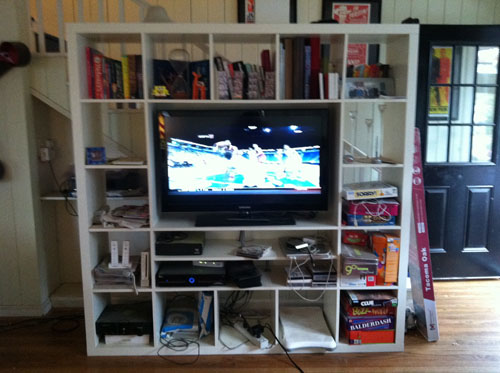 i like what im herring tv stand facelift – Tv Stand Bookcase