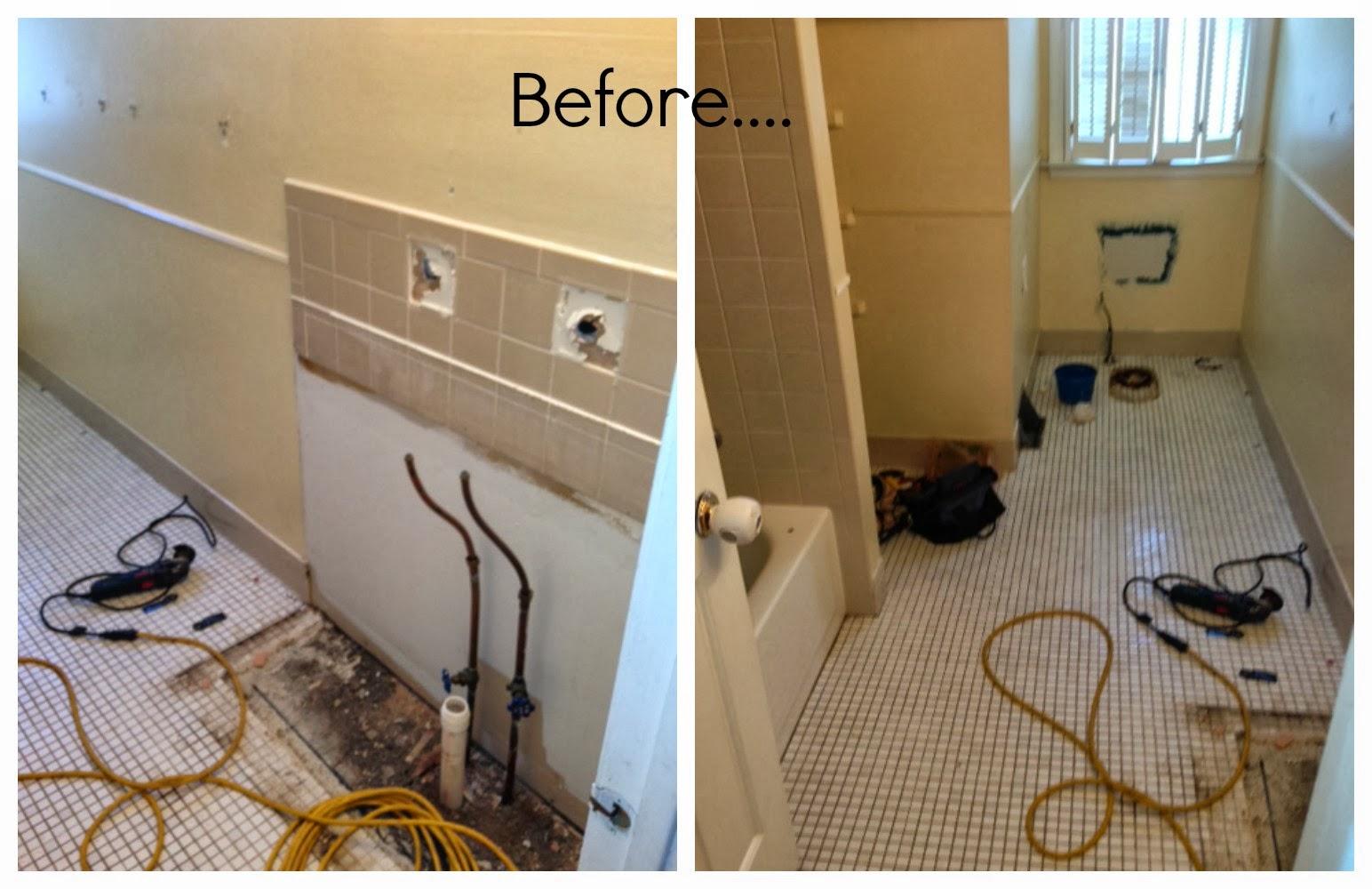 Gunning It: Bathroom Renovation