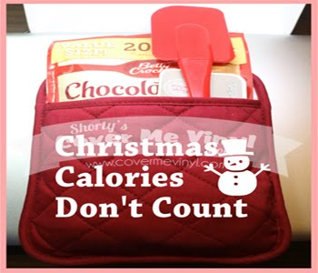 Christmas Calories Oven Mitt Kit