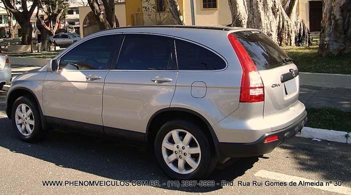 Honda CRV 2.0 LX 4X2 Automática 2008 - traseira