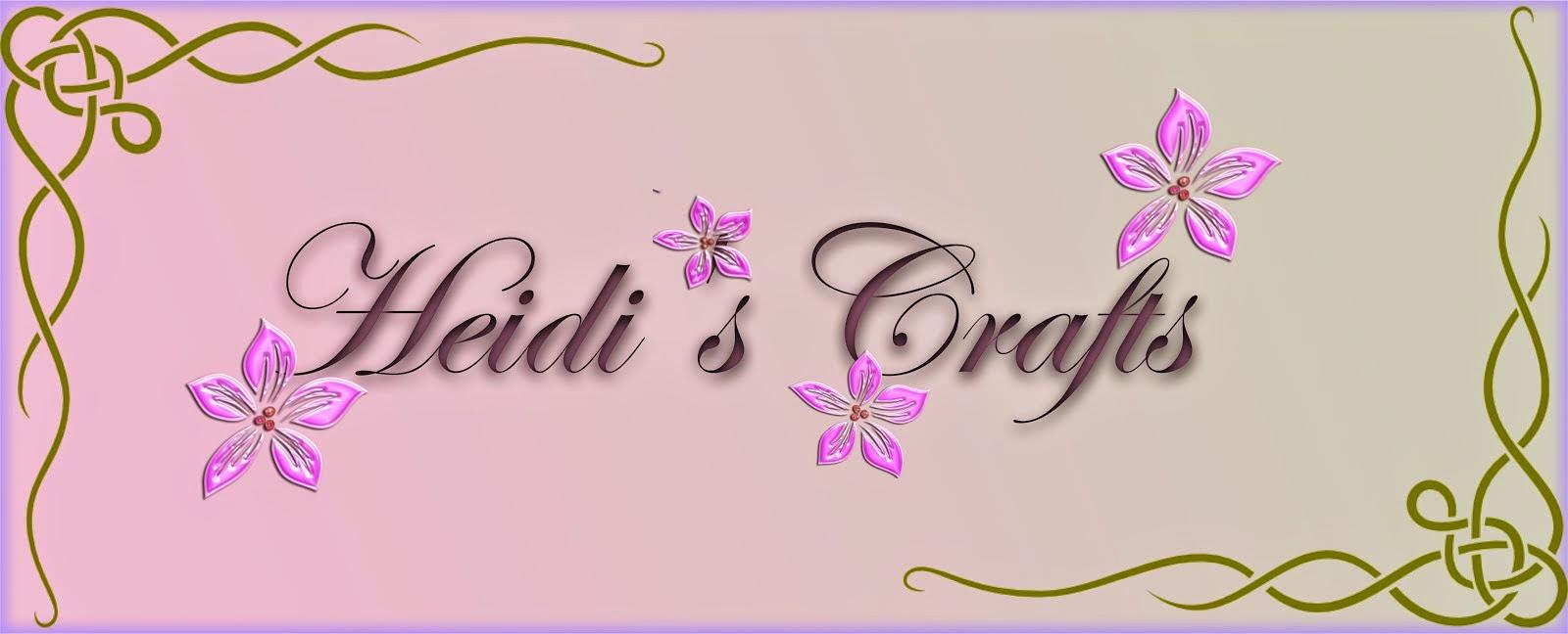 Heidi's Crafts