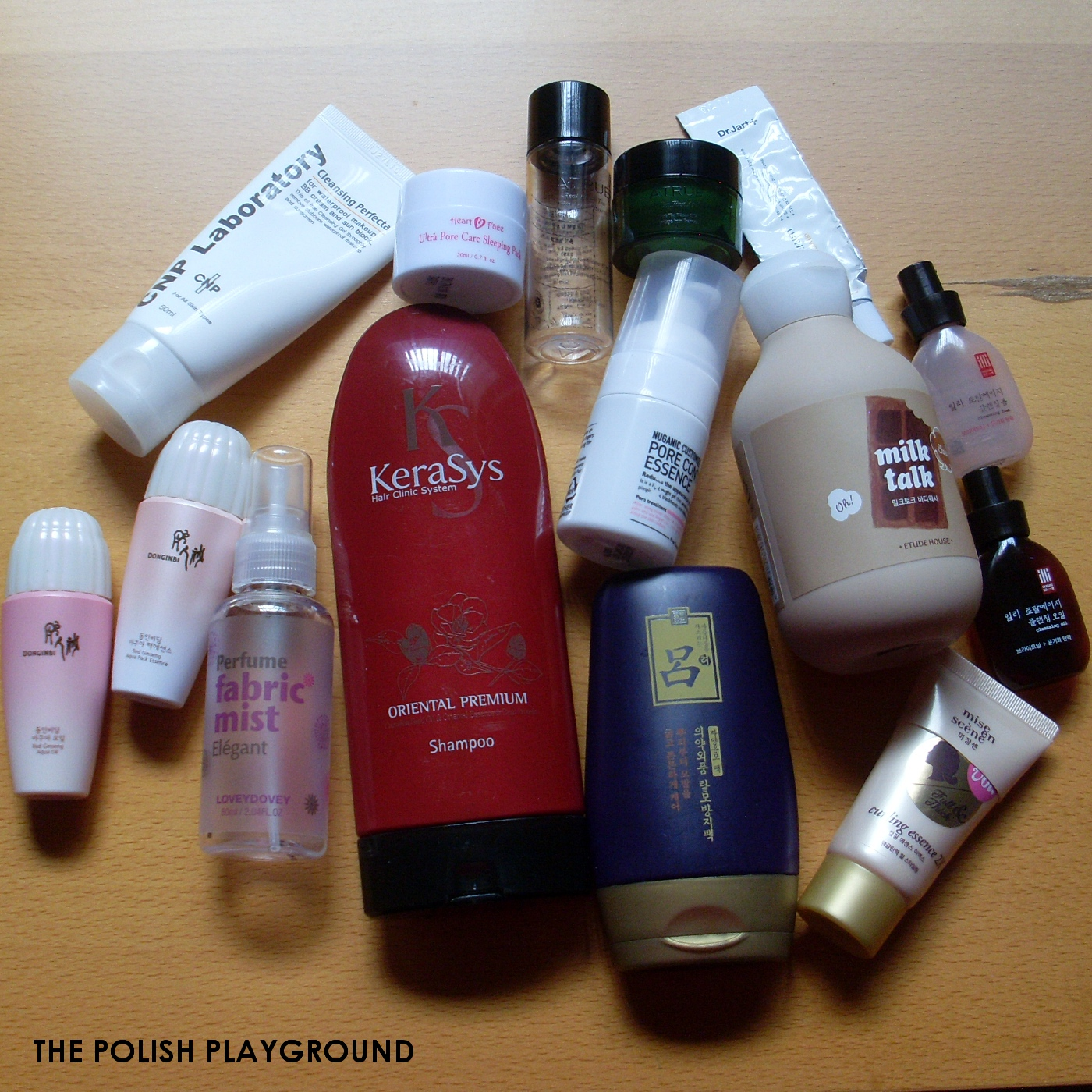 October 2014 Product Empties