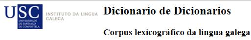 Dicionario de dicionarios