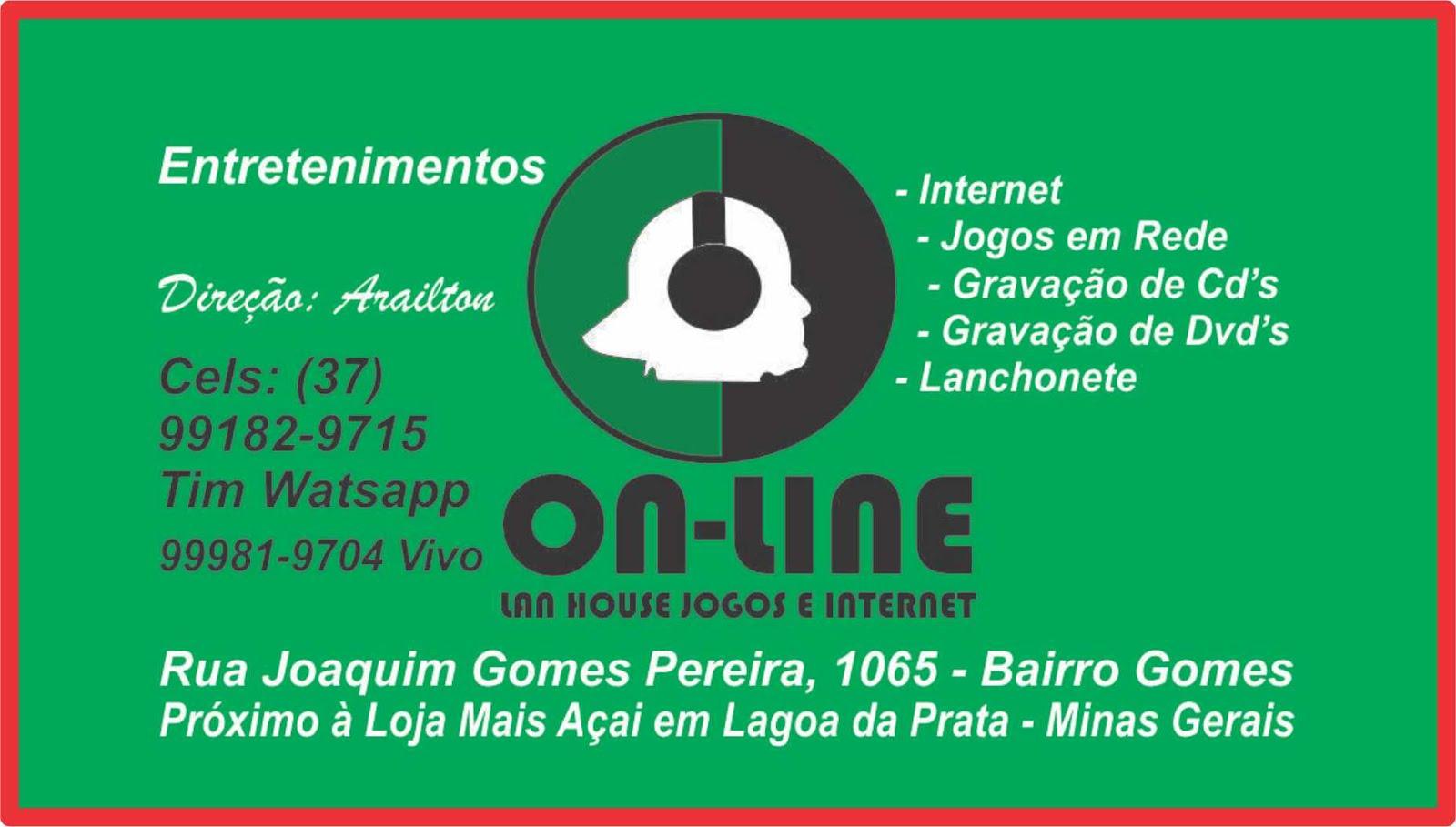 Lan House On-Line em Lagoa da Prata