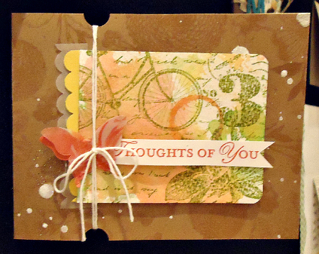 Thoughts of You Collage Card
