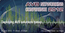 AVB Network Conference badge