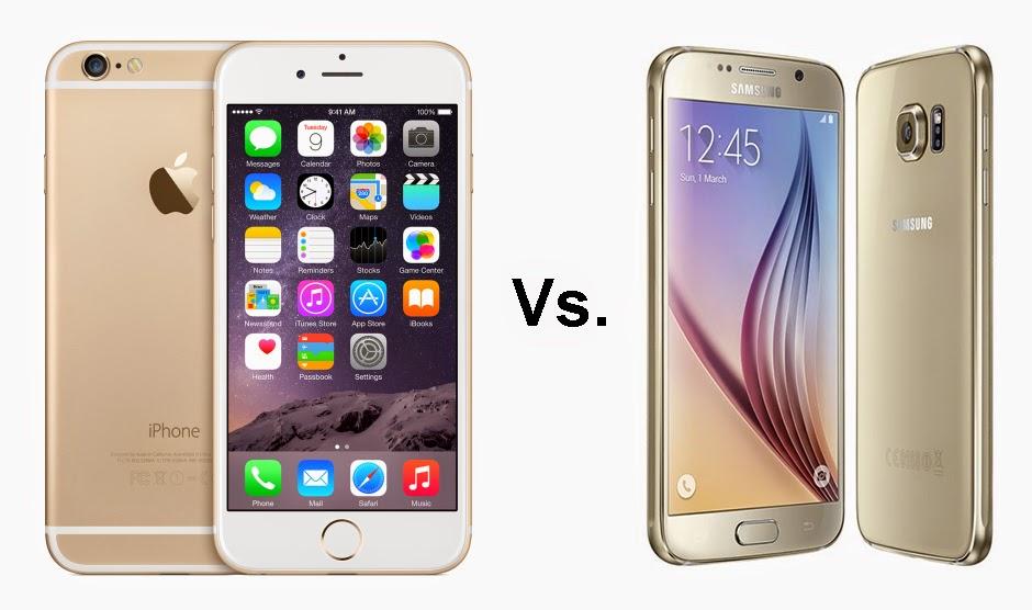 iphone 6 vs s6 edge finger