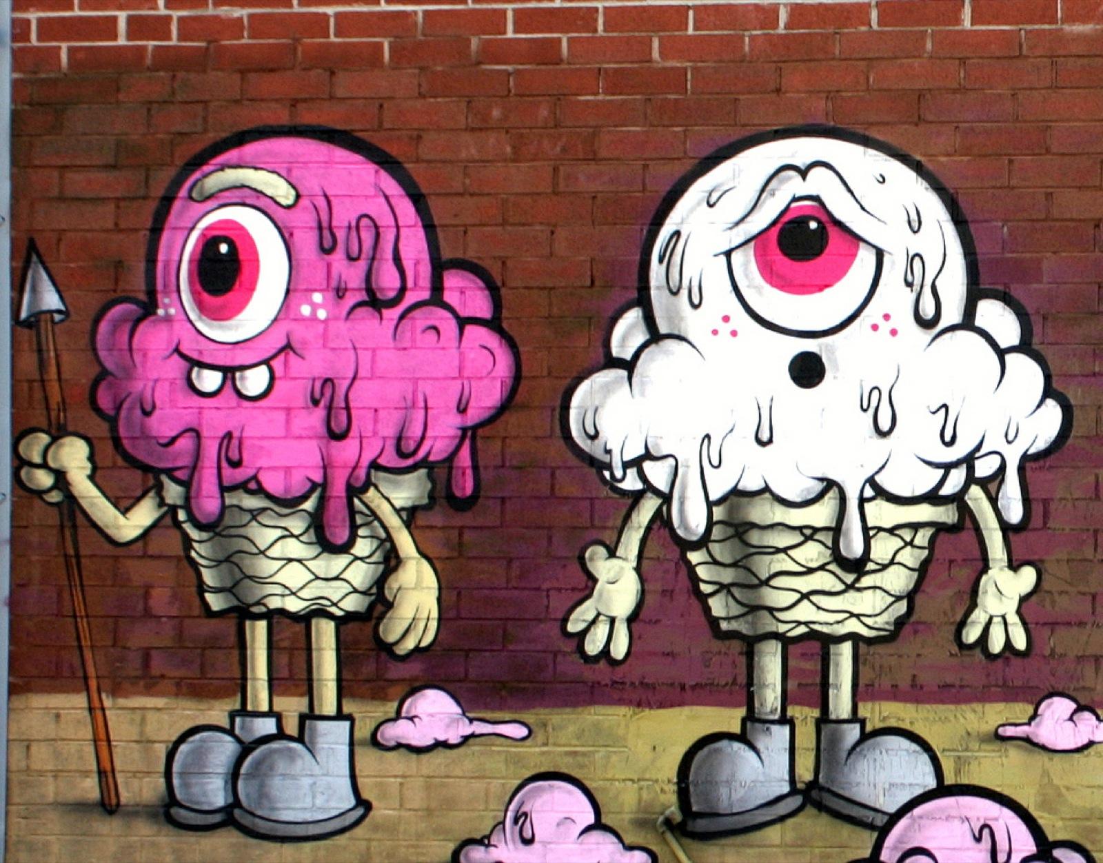 Buff Monster New Mural In New York City Usa Streetartnews