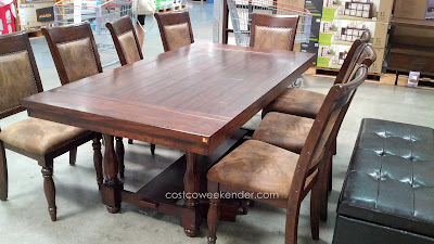Hillsdale Tremonte 9 piece Dining Set: great for family, feasts, and dinner parties