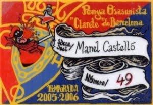 carnet temporada 2005-06