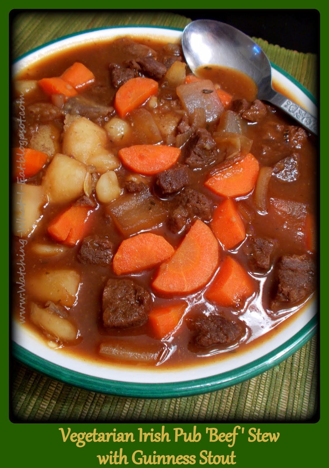 ... Vegetarian Irish Pub 'Beef' Stew with Guinness Stout ~ Meatless M...