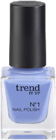 Preview: Die neue dm-Marke trend IT UP - N°1 Nail Polish 100 - www.annitschkasblog.de