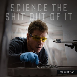 The Martian Science The Shit Out Of It