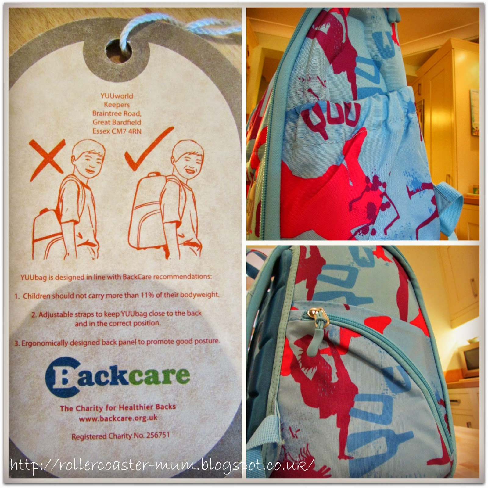 Backcare YUUbag MUUV
