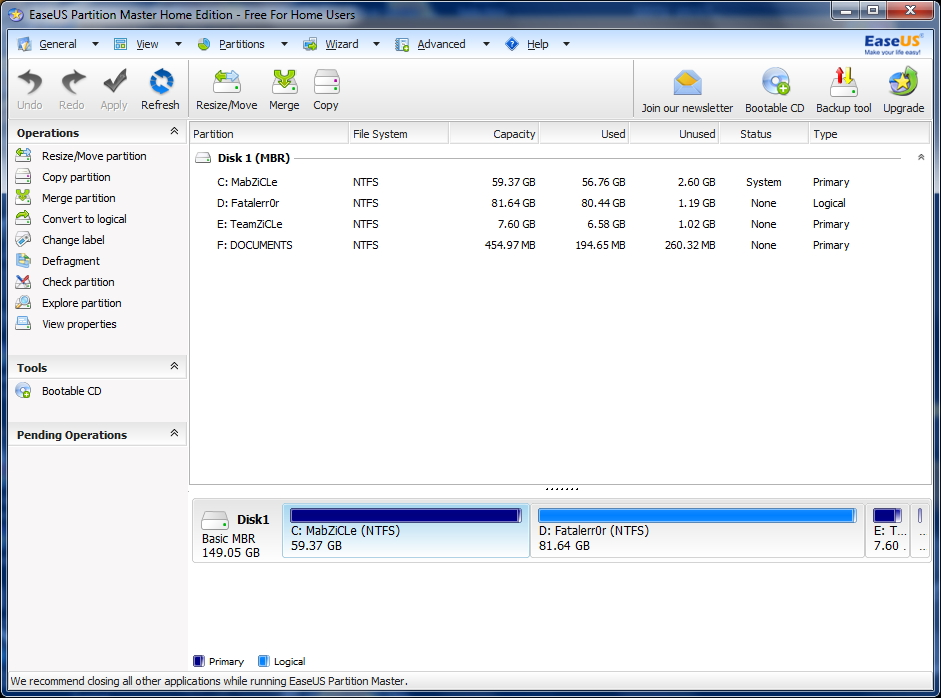 How to resize partition in windows 7 mabzicle for Window resize