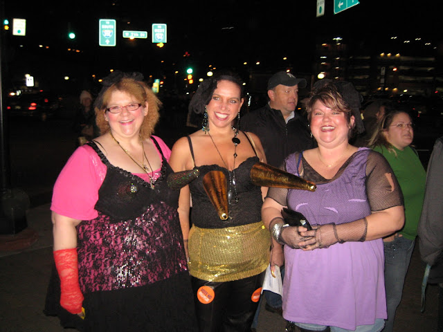 Cone Bras at the Madonna concert
