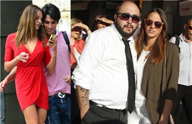 Jessica Bueno y Kiko Rivera con sus parejas actuales
