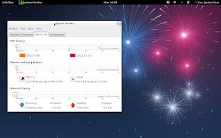 Fedora 17 GNOME desktop