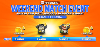 Weekend Match Event FO3 January 2016