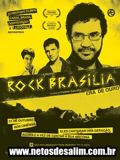 rock brasilia poster Rock Brasília Era de Ouro DVD