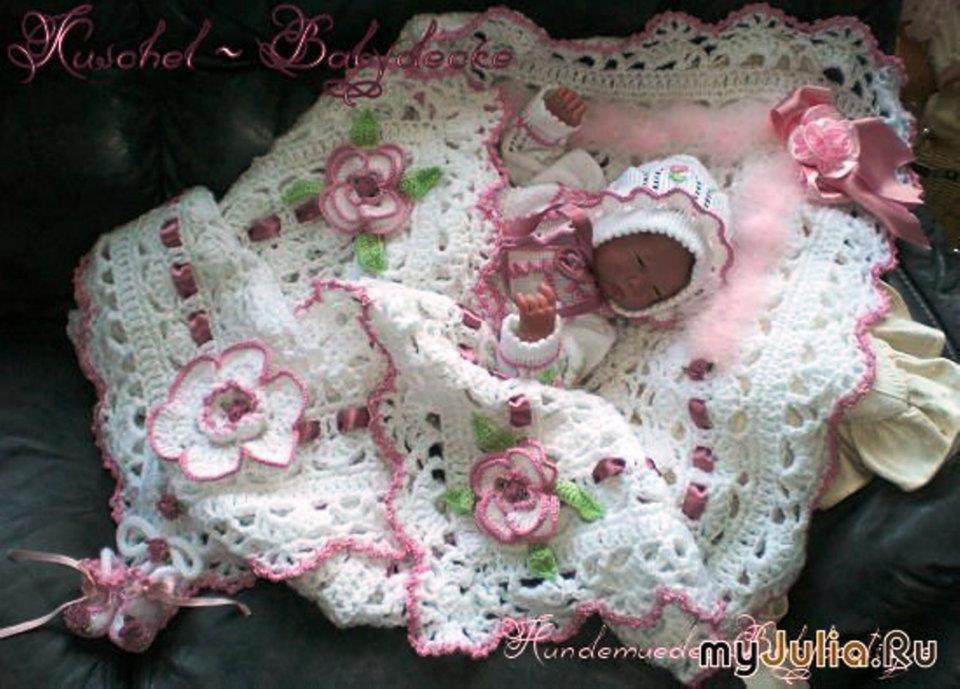 Одежда для новорожденных своими руками вязание