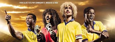 """... de """"La Selección"""" serie que cuenta la historia de las glorias del"""