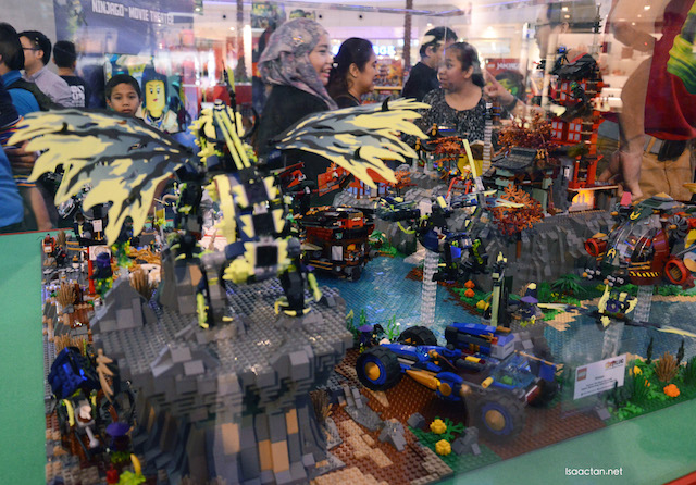 Completed products, The LEGO Ninjago series are beautiful works of art
