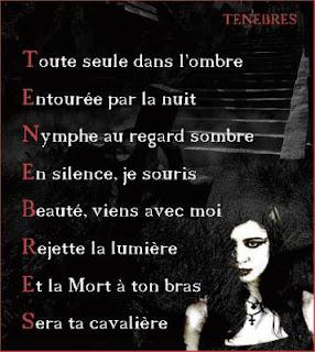 poème de mort