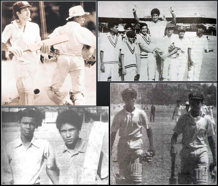 Sachin Childhood photos