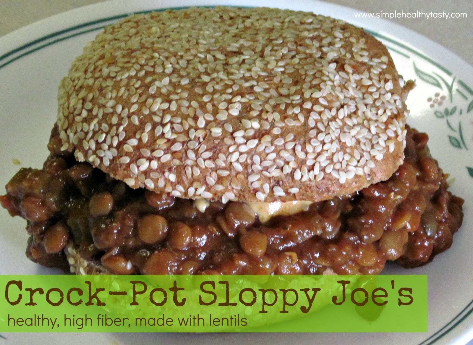Crock-Pot Sloppy Joes