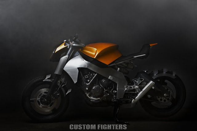 Honda CBR 1000F Streetfighter | Custom Streetfighter | Honda Streetfighter | Custom Fighters | Streetfighter Motorcycle Ian McElroy's 1987 Honda CBR 1000F Custom Streetfighter Motorcycle by Custom Fighters