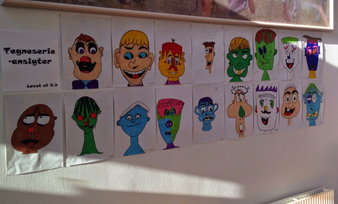 lær at tegne tegneseriefigurer