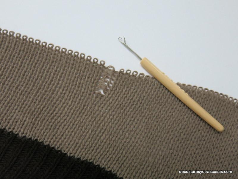 Como retomar Puntos Sueltos al tejer