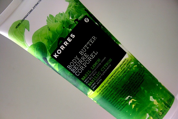 Korres Basil Lemon Body Butter Review, Photos