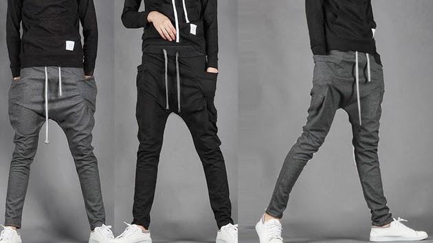 moda zaz: Pantalones harem hombre