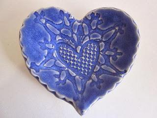 heart dish