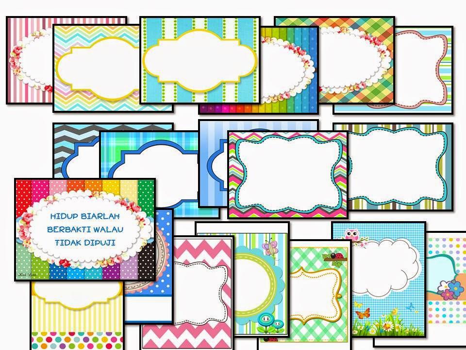 Genius kids zone templet untuk label dalam kelas for Contoh lukisan mural tadika