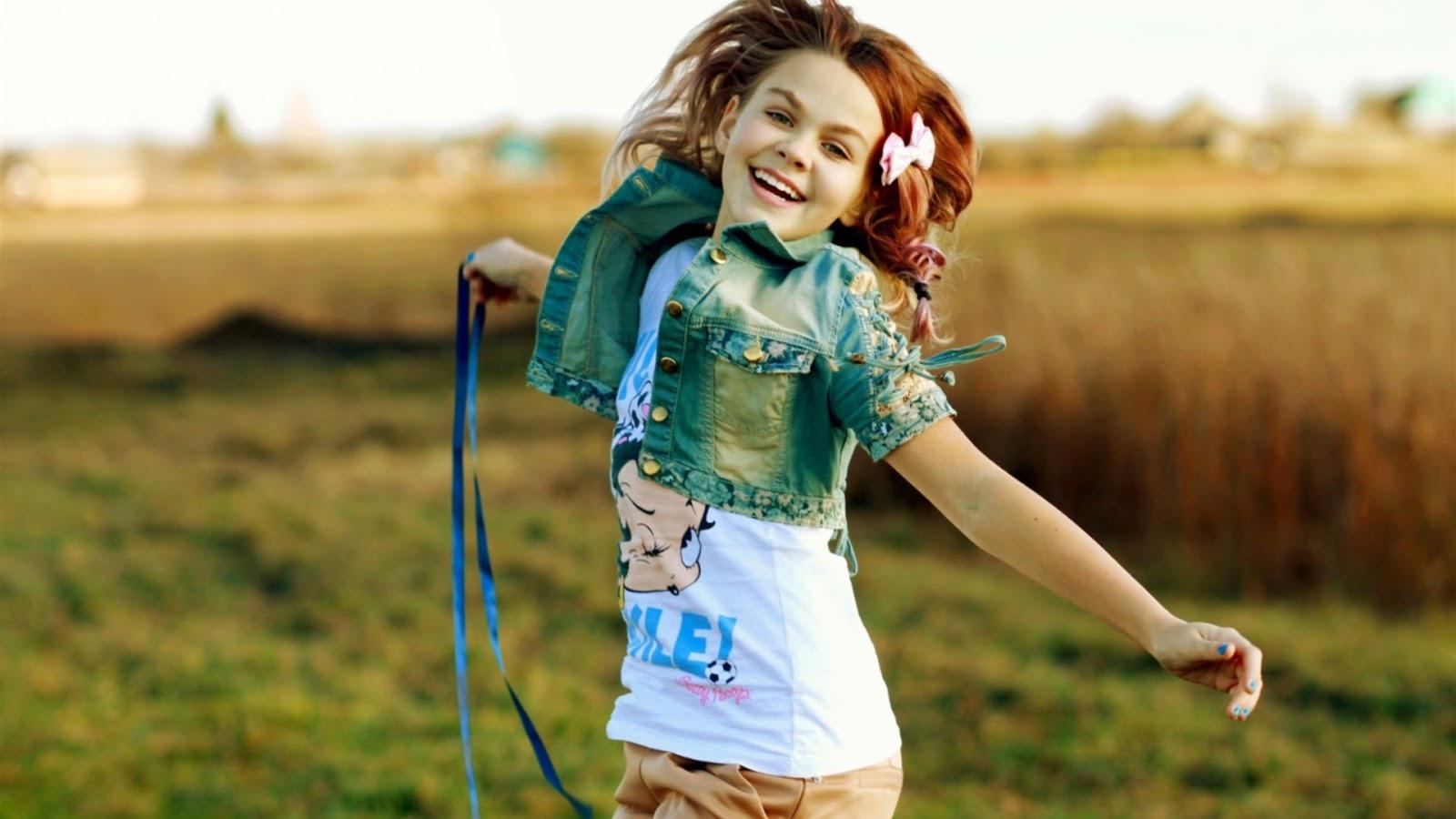 Girl Joy Smile