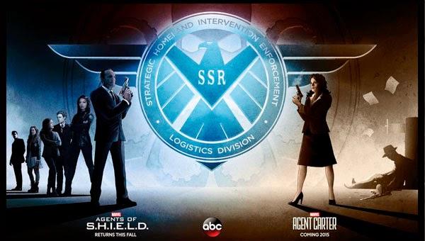 Poster Agentes de S.H.I.E.L.D. / Agente Carter