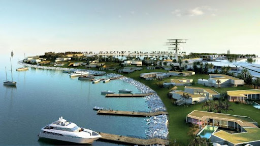 Real Madrid Island Resort in UAE