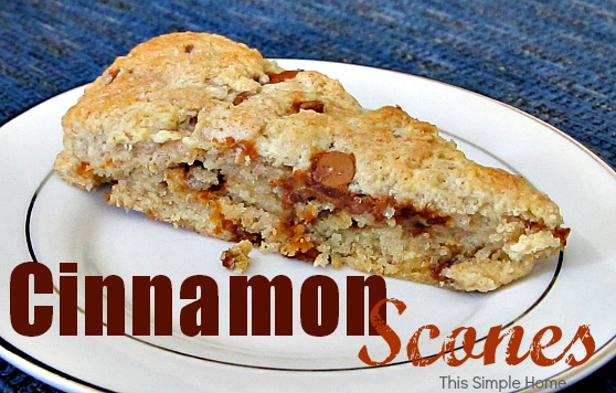 Cinnamon Scones Recipe