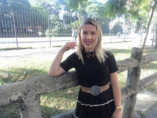 Look no Passeio Público de Curitiba