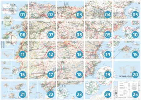 Enlace al mapa de la Red Eléctrica de España
