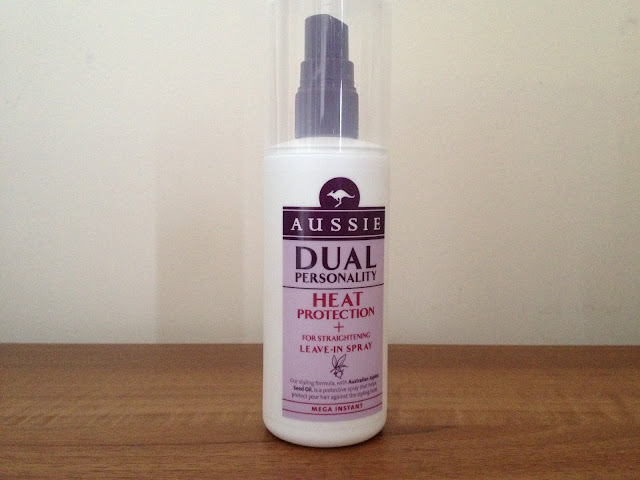 Aussie Dual Personality Heat Protection Spray