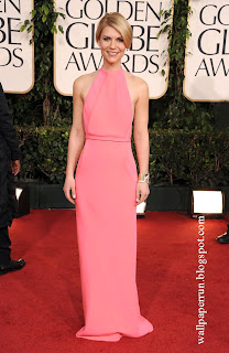 Claire Danes attends the 68th Annual Golden Globe Awards in Beverly Hills