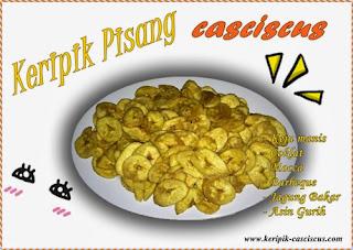 keripik pisang casciscus