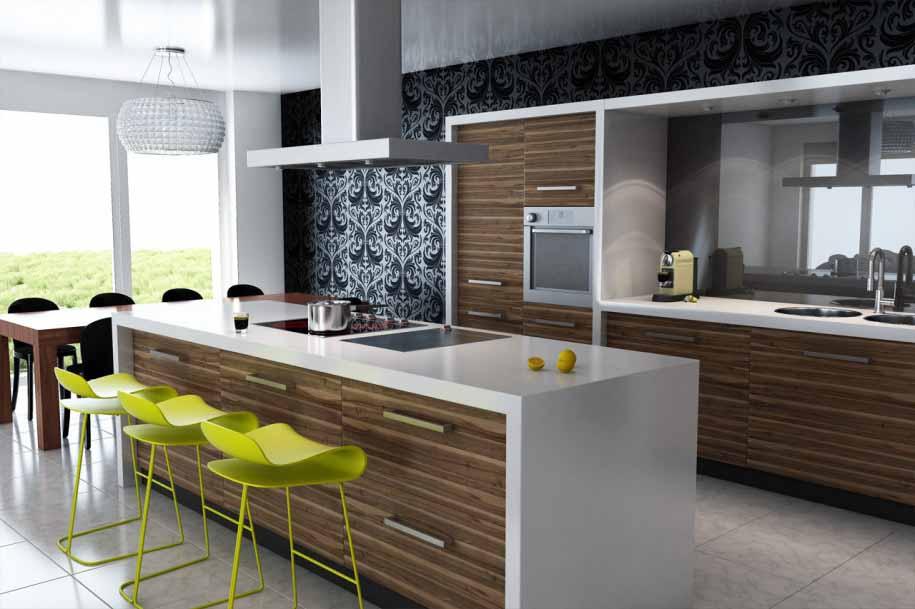 Desain dapur minimalis Modern
